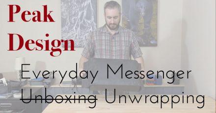 Gear Check: Peak Design Everyday Messenger