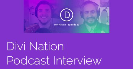 Watch My Interview on the Divi Nation WordPress Podcast
