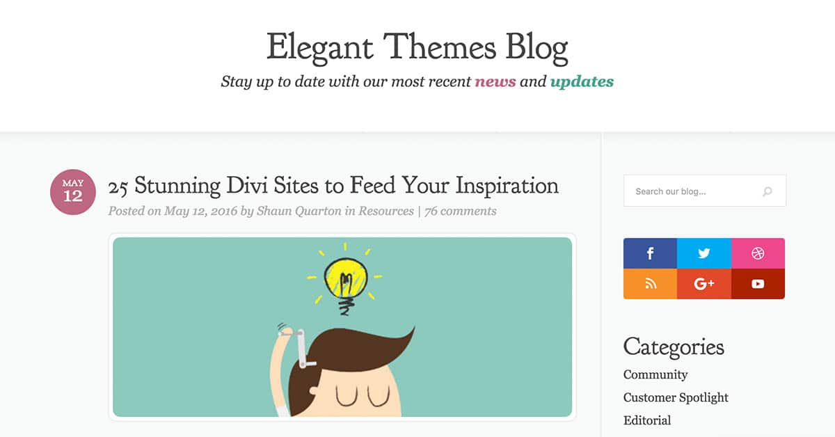 Best divi website examples my site featured for Elegant themes divi review