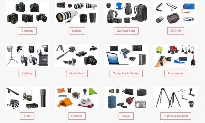 Gear List Updated