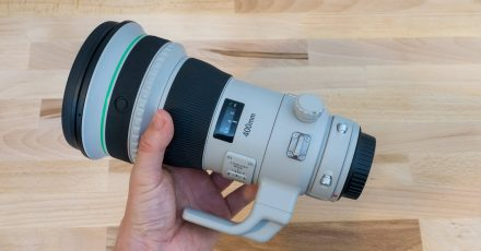 Gear Check: New Canon 400mm f/4 DO IS II