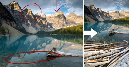 Behind the Shot: Moraine Lake Sunrise