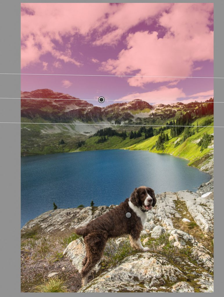 cirque-lake-dog-lightroom-mask1