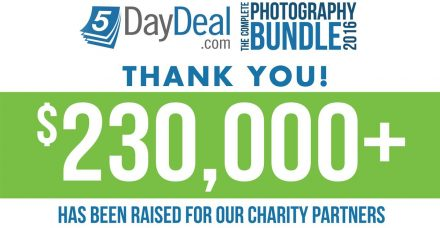 Giveaway Winners Announced + $230,000 Raised for Charity!