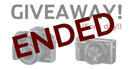 ENDED: Win a Canon EOS M5 Kit and G7X Mark II – 1 DAY ONLY