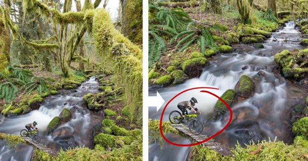 Behind the Shot: Tiny Tree Biker (Photoshop Composite Project)