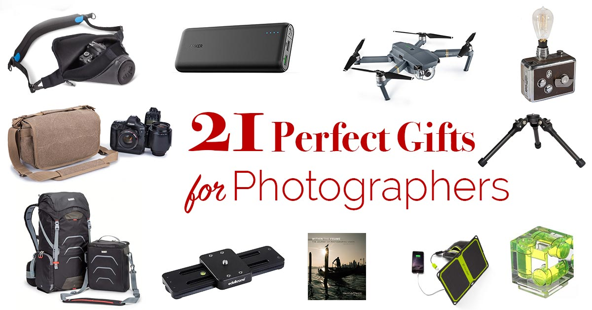 Gift Ideas For Photographers 2016 Edition