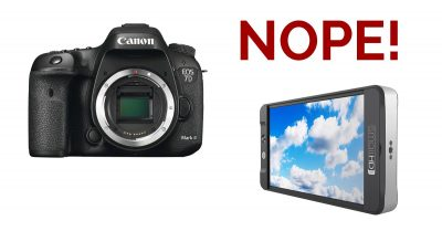 A Note For 7D Mark II Users and Why I Returned My SmallHD 701 LCD Monitor