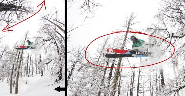 Behind the Shot: Snowy Skiing Fisheye