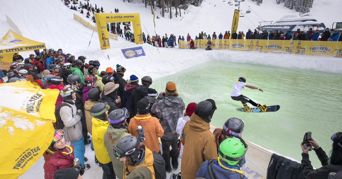 Whistler Slush Cup For Twisted Tea