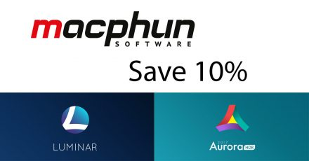 New Discount for Readers: Macphun Luminar and Aurora HDR