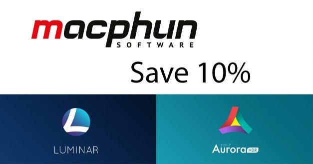 New Discount for Readers: Macphun Luminar and Aurora HDR