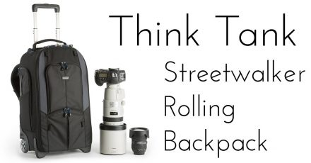 NEW: Think Tank Streetwalker Rolling Backpack!