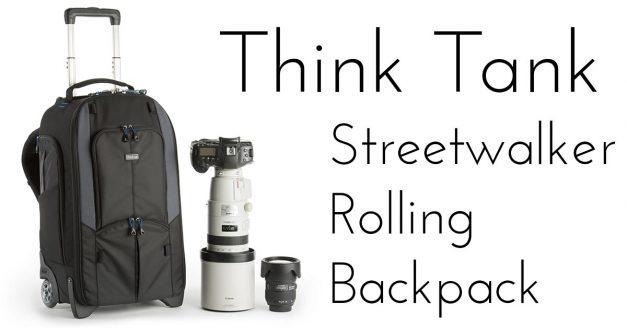 NEW: Think Tank Streetwalker Rolling Backpack!