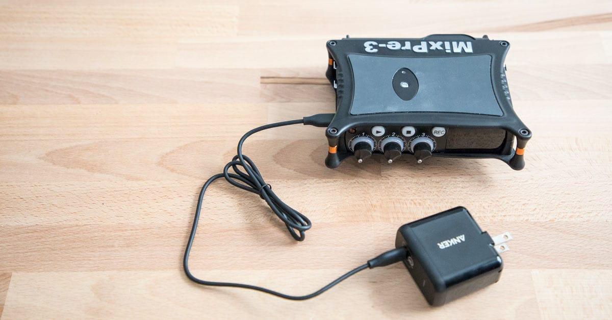Best USB-C Power Supply for Sound Devices MixPre-3 & MixPre-6