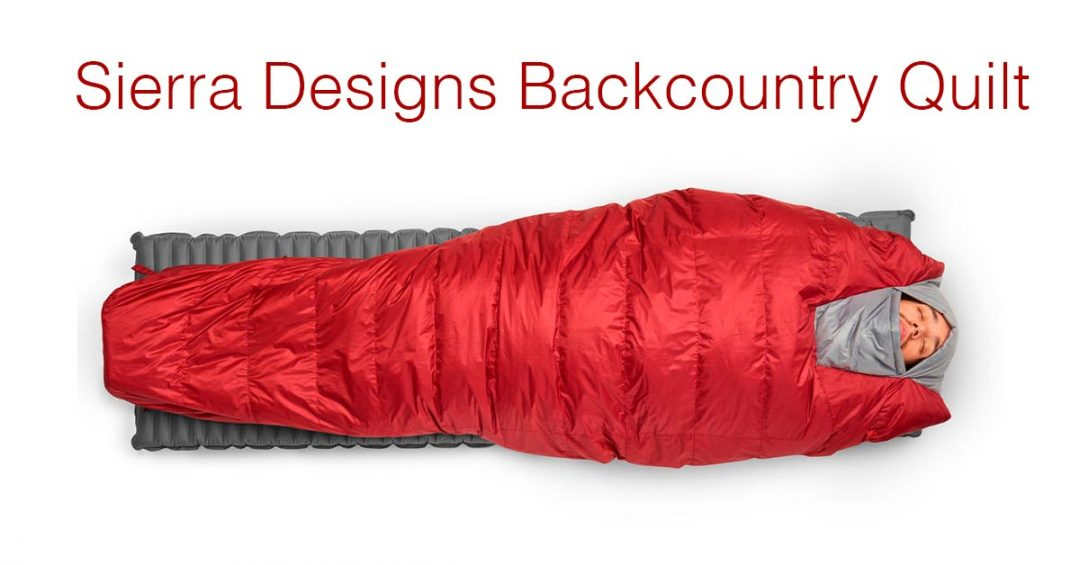 Shedding Pack Weight: Sierra Designs Backcountry Quilt