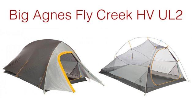 Shedding Pack Weight: Big Agnes Fly Creek HV UL2