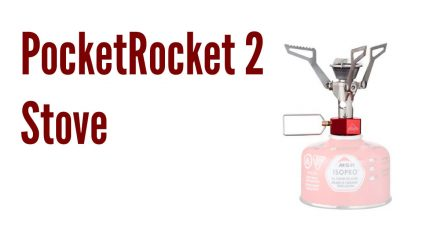 Shedding Pack Weight: MSR PocketRocket 2 Stove