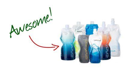 Shedding Pack Weight: Flexible Water Bottles
