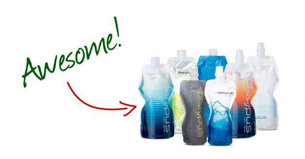 Shedding Pack Weight: Flexible Water Bottles