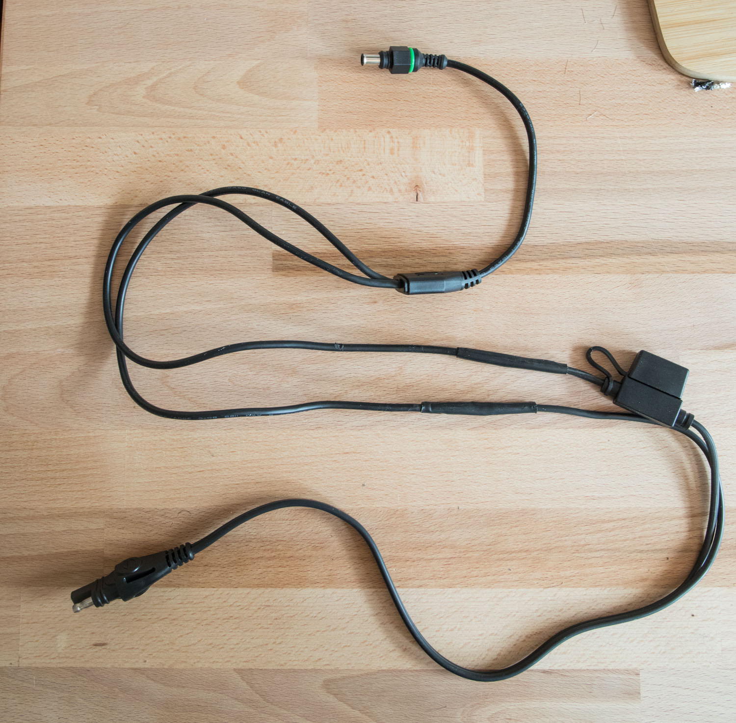 How To Wire A Goal Zero Solar Panel Zamp Connector Auto Meter Tach Wiring Pro Cycle Youll Make Real Mess Simply Hold It Underneath The Cable As Close You Can Without Touching And Move Back Forth Until Has Shrunk Around