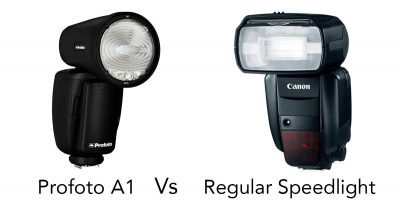 Profoto A1 Vs. Regular Speedlight – Why Would You Buy One?