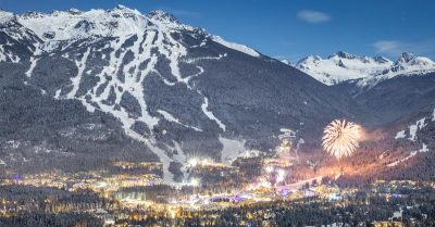 Behind the Shot: New Year's Eve in Whistler