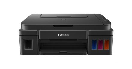 From My Office: The Canon Printer Without Ink Cartridges