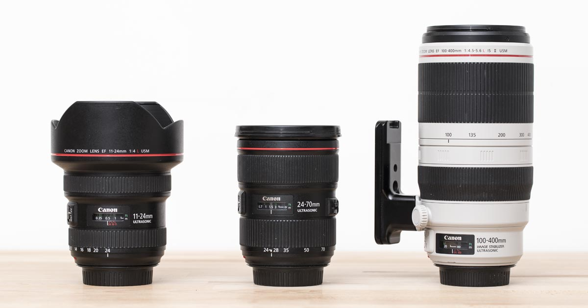 My Favourite Canon Multipurpose Lens Trifecta