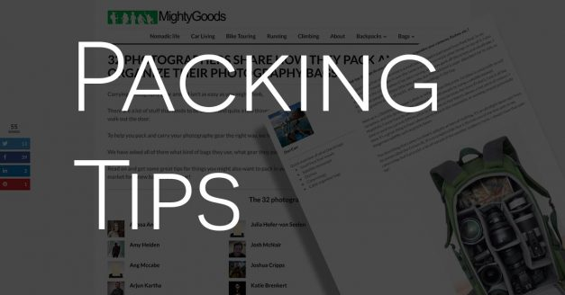Packing Tips on Mighty Goods