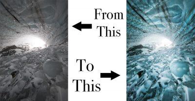 Behind The Shot: Yukon Ice Cave
