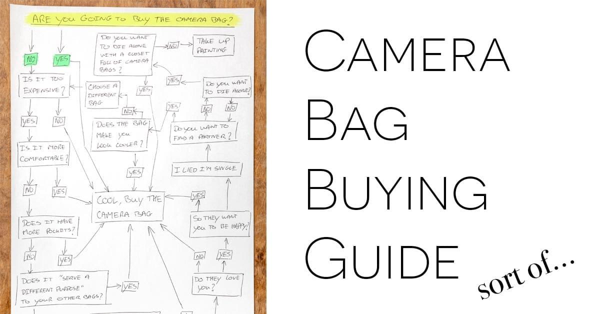 New Camera Bag Buyers Guide…Sort Of