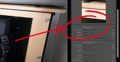 Adobe Changed the Default Lightroom Raw Sharpening in V7.3
