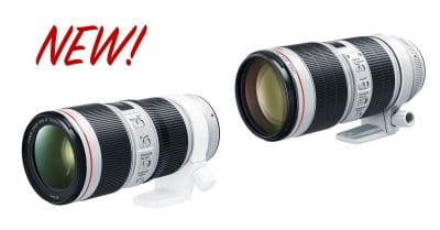 Thoughts on Canon's New 70-200mm Lenses and Their Surprising Price