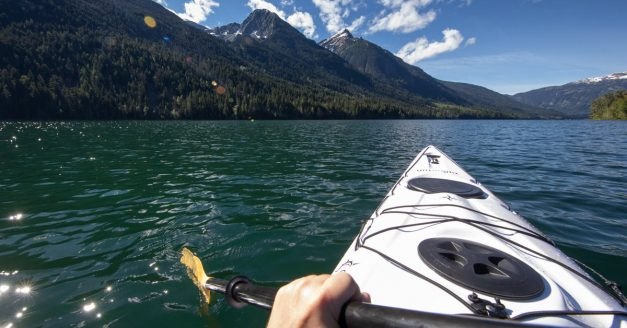 Why Is This Kayak Shot Faked? Can You Guess?