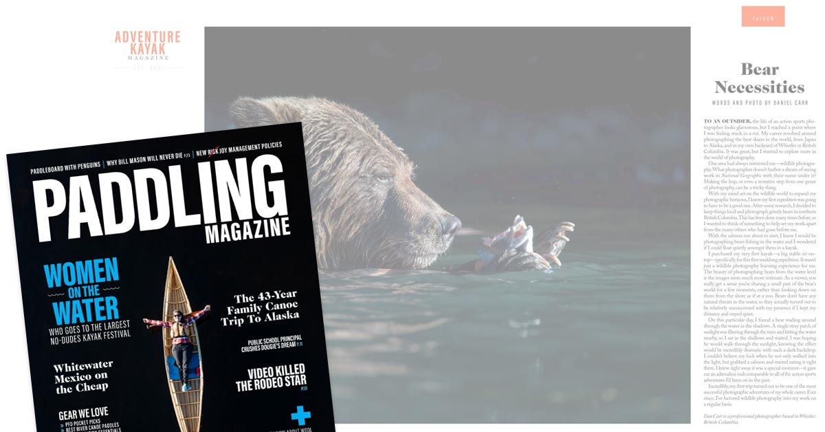 Paddling Magazine Feature