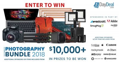 Photography Gear Giveaway! $10,000+ of Prizes