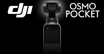 Cool! DJI Osmo Pocket – Tiny 3-Axis Stabilized Camera