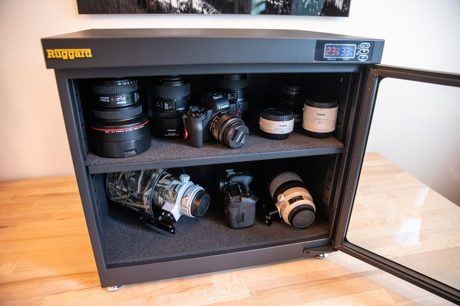 Why I Store My Camera Gear In A Dry Cabinet