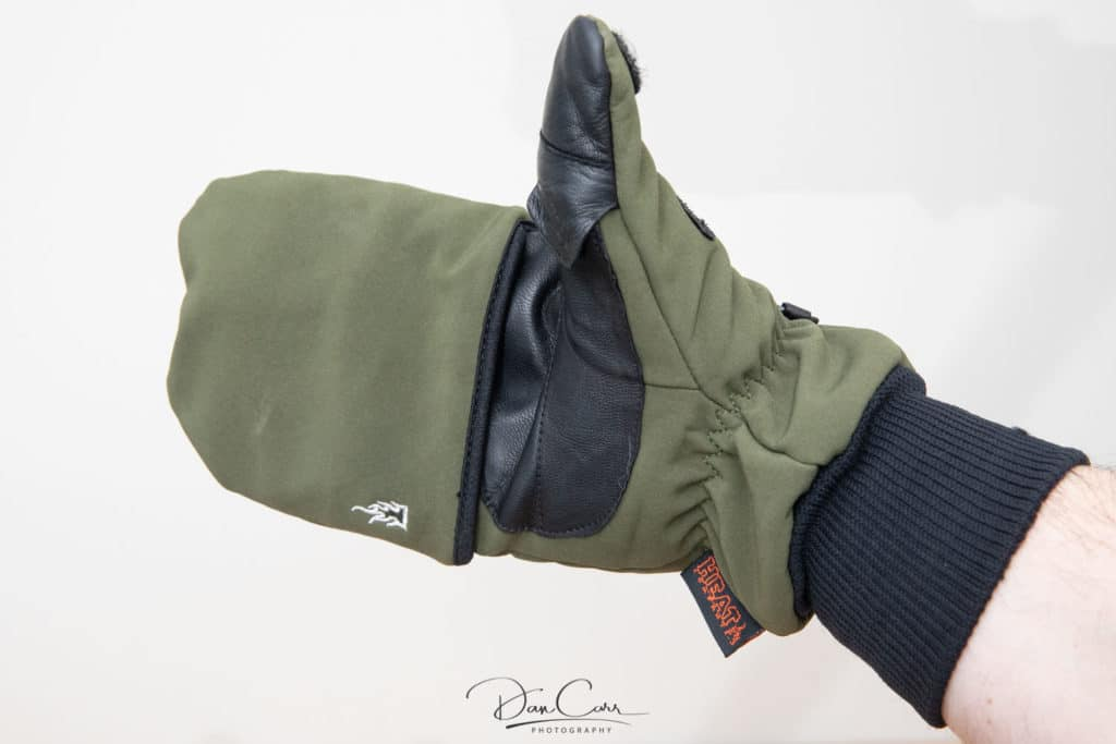 Heat 2 Softshell photography glove