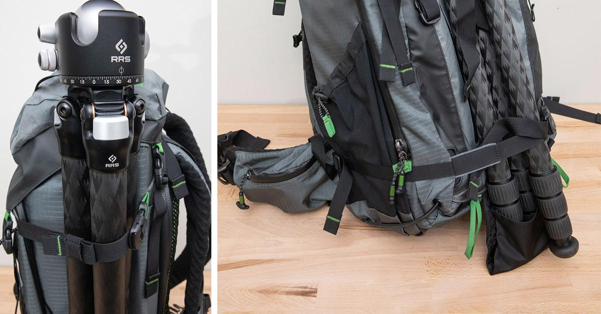 How to Carry a Tripod with the Backlight Elite