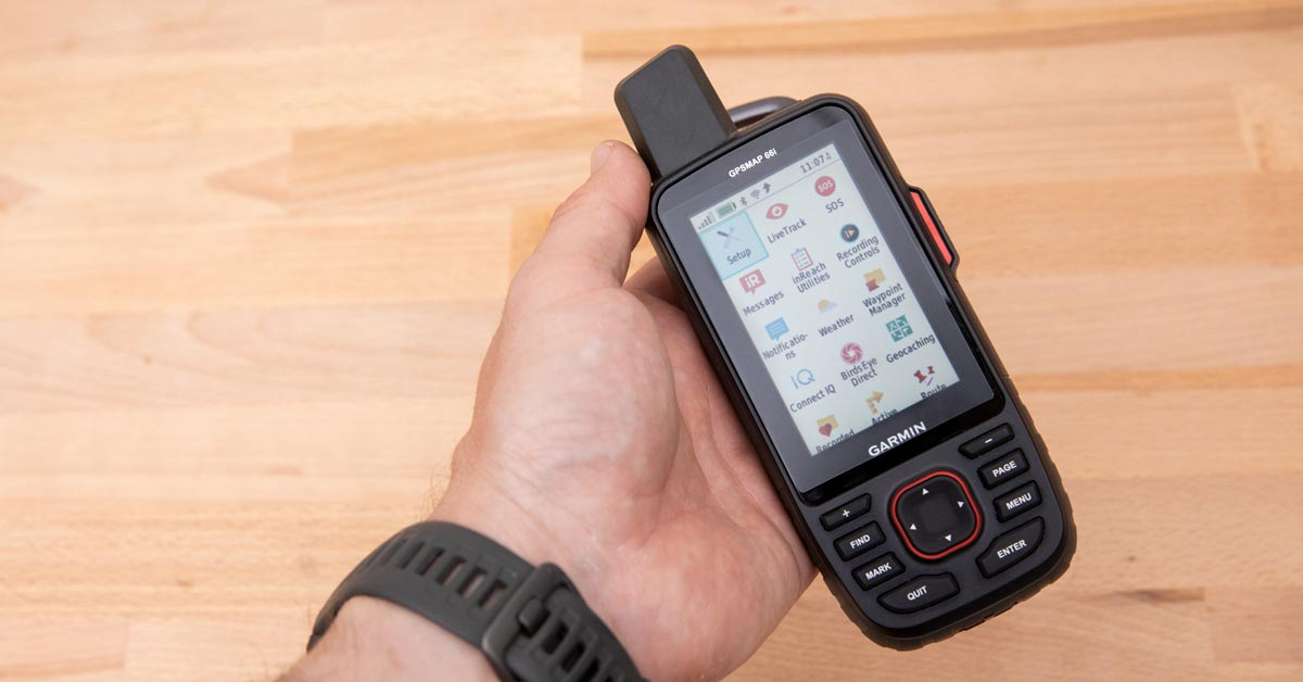 Gear Check: Garmin GPSMAP 66i With InReach!