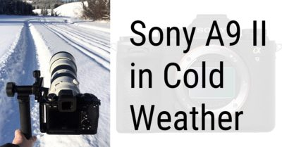 How Does The Sony A9 II Handle Extreme Cold?