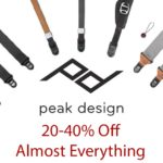 Peak Design Flash Sale: Save 20-40%